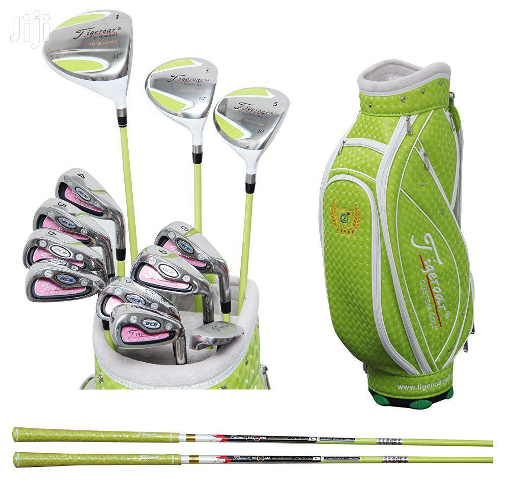 Ladies Golf Club Set Tigeroar