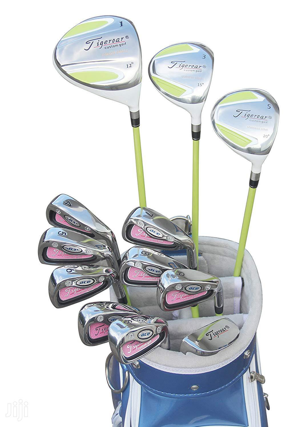 Archive: Women Golf Club Set Kit Tigeroar