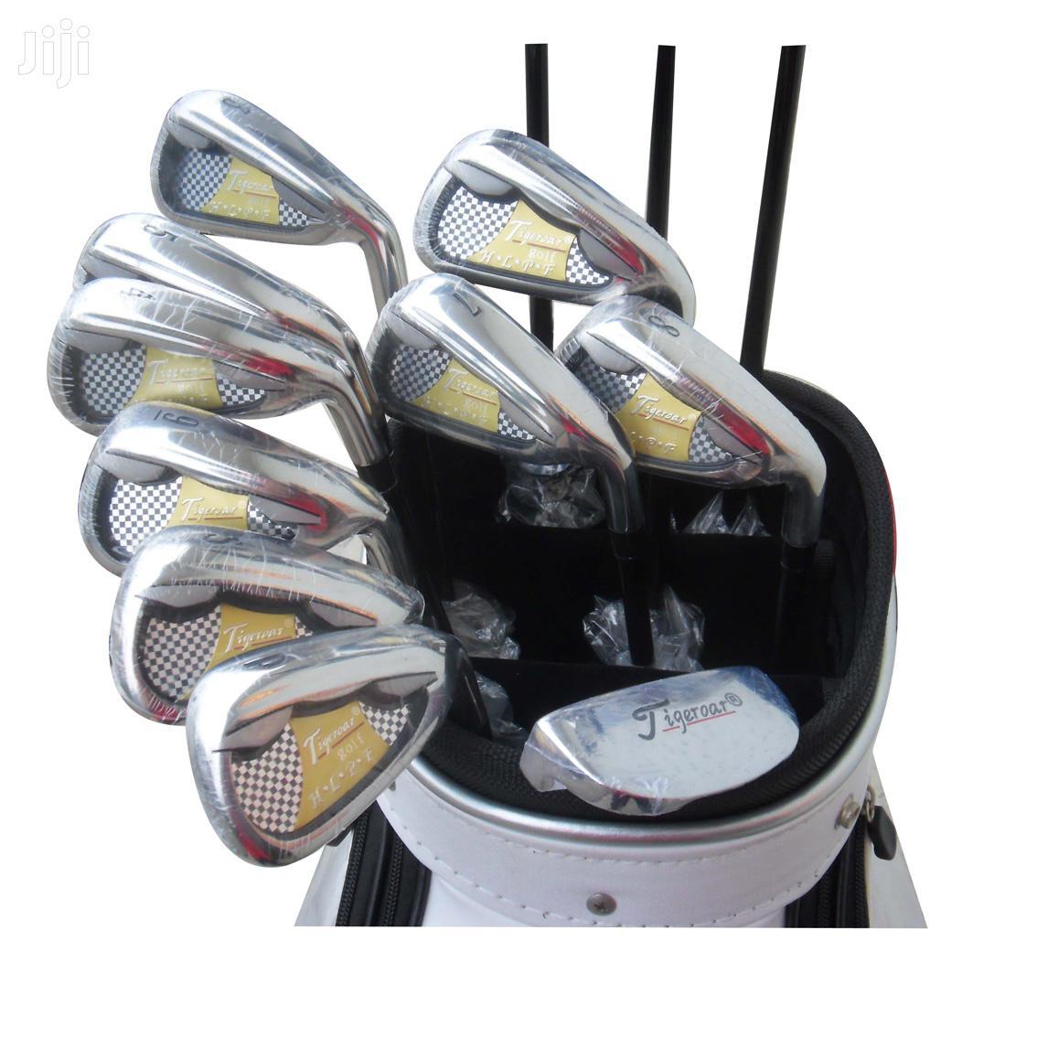 Mens Tigeroar Adult Golf Club Set