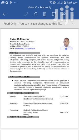 English Teacher For Kids   Other CVs for sale in Mombasa, Kisauni