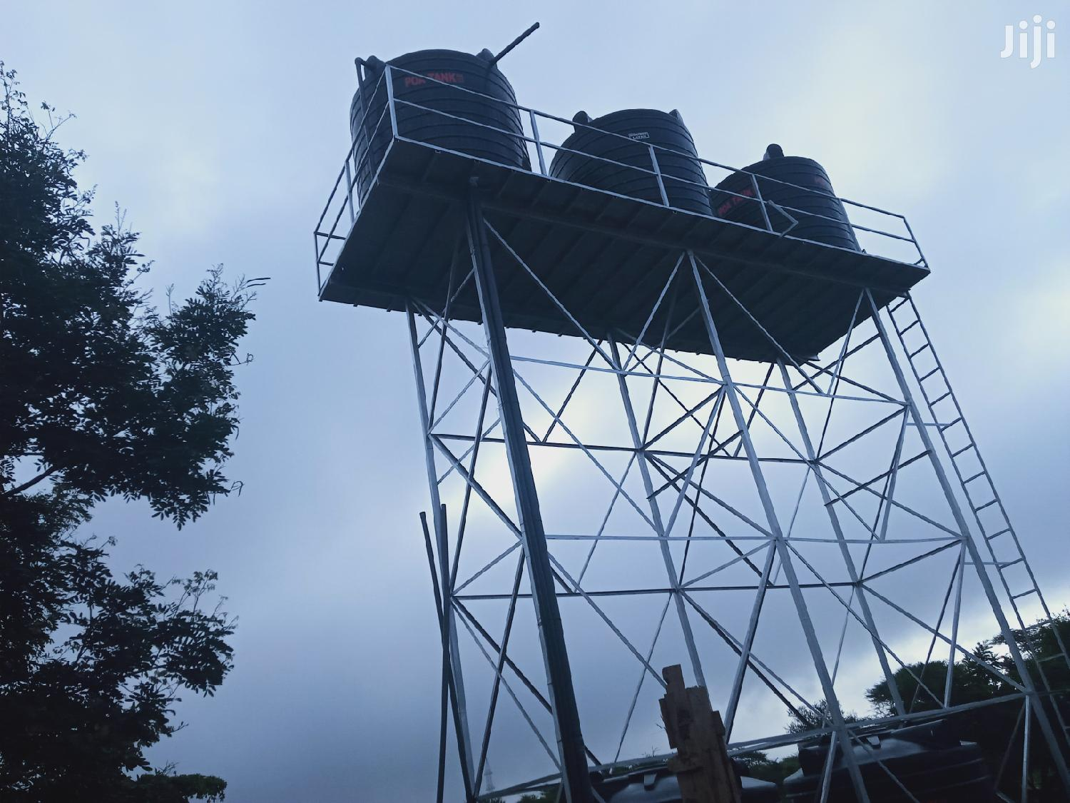 Tank Platform, Raised Tank Stand Elevated Water Tower | Other Repair & Construction Items for sale in Nguni, Kitui, Kenya