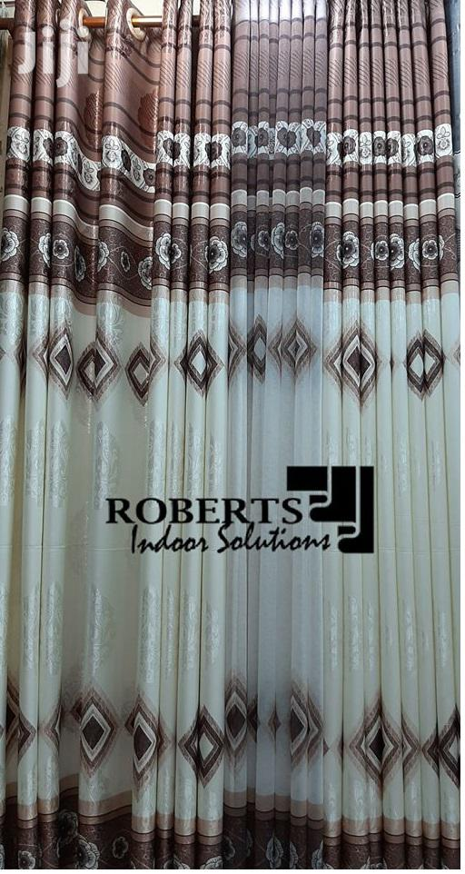 Decorative Curtains With Sheer
