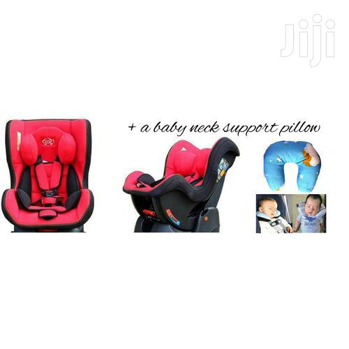 Reclining Baby Car Seat (0-5yrs) + A Baby Neck Support Pillow