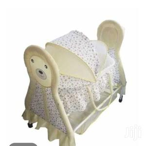 Rocking Baby Crib Rocking Baby Bed Baby Cradle Swing Cot +Mosquito Net | Children's Gear & Safety for sale in Nairobi, Westlands