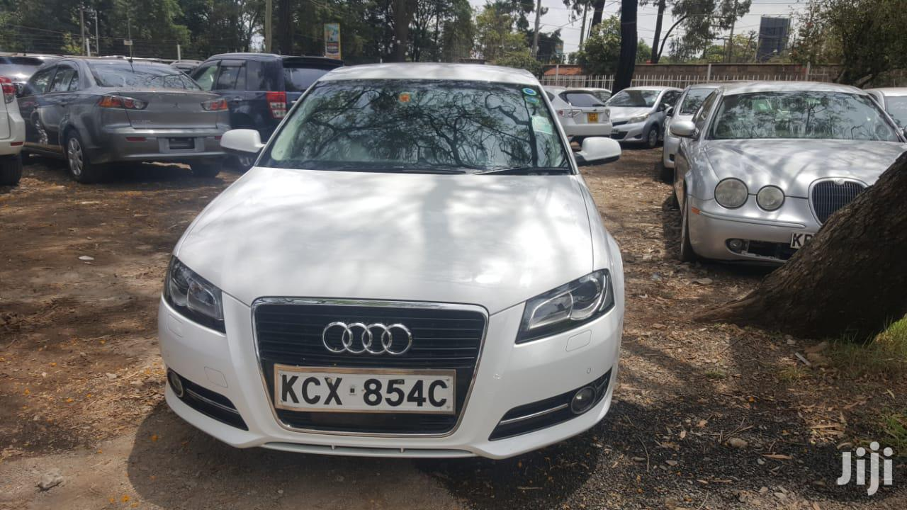 Audi A3 2012 White | Cars for sale in Lavington, Nairobi, Kenya