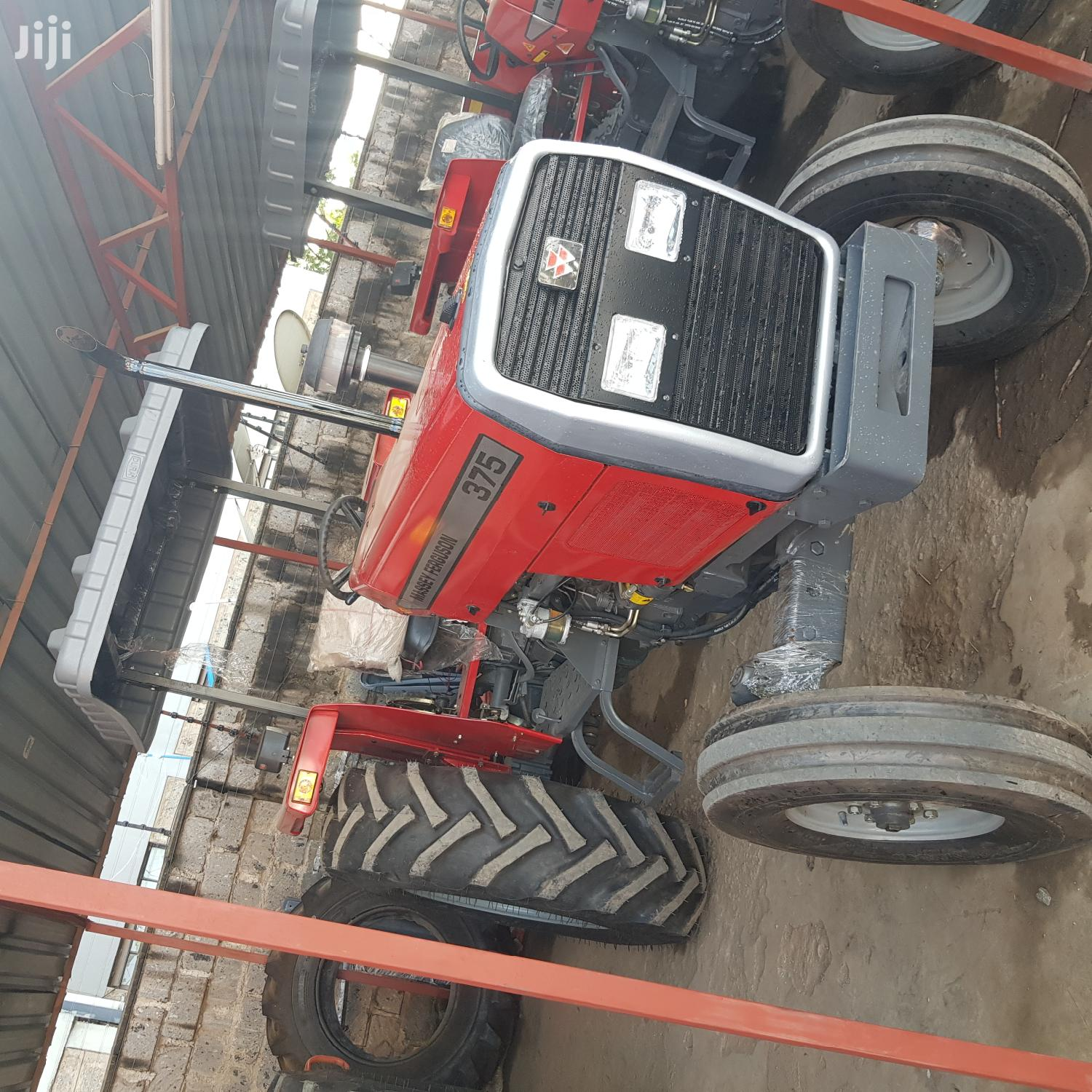 Mf 375 Tractor +All Accessories