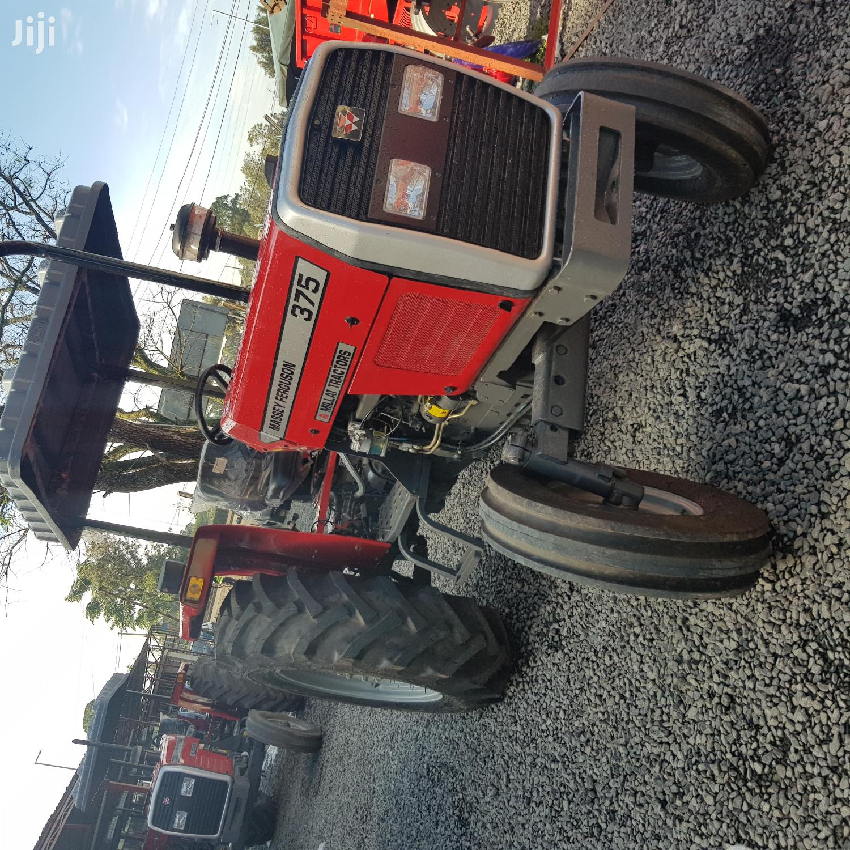 MF 375 2WD TRACTOR +DRAWBAR+4WEIGHTS+Tine Tiller +Mf 3disc +Warranty