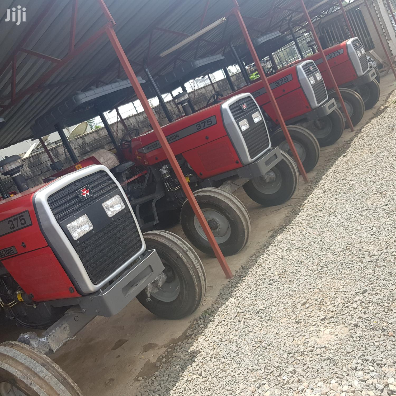 MF 375 2WD TRACTOR +DRAWBAR+4WEIGHTS+Tine Tiller +Mf 3disc +Warranty | Heavy Equipment for sale in Woodley/Kenyatta Golf Course, Nairobi, Kenya