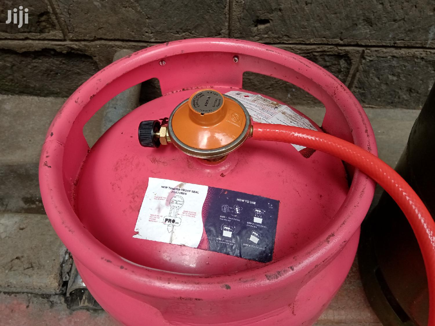 Pro Gas 6kg Cylinder With Regulator And Pipe