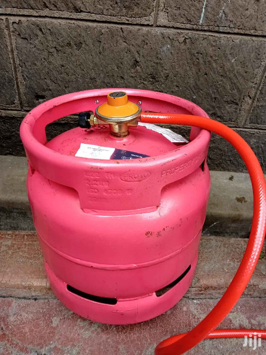 Pro Gas 6kg Cylinder With Regulator And Pipe | Kitchen Appliances for sale in Ngara, Nairobi, Kenya