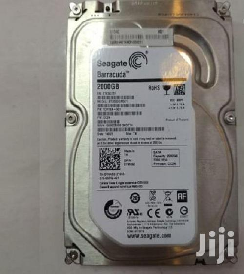 2000GB 2TB Seagate 7.2K SATA Hard Drive Or