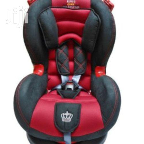 Superior Baby Car Seat- ( 0- 7 Years)Red And Black