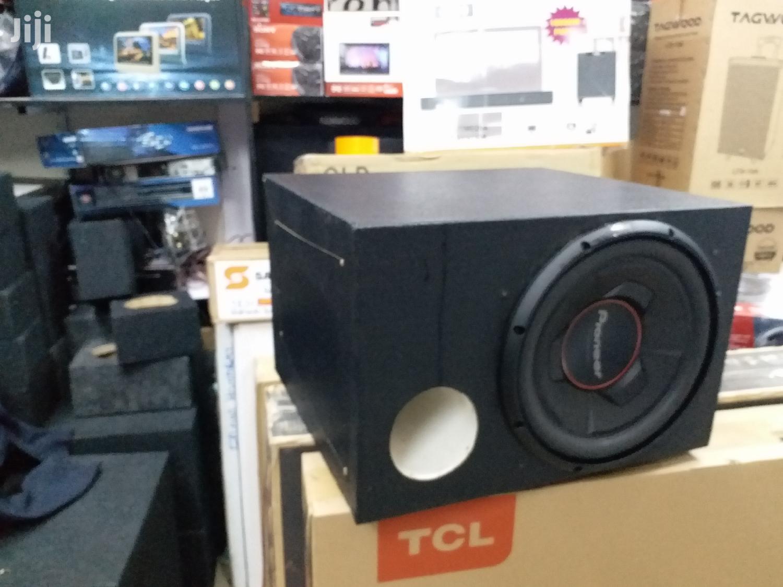 Pioneer TS-W306R 1300watts Deep Bass Woofer in a Cabinet
