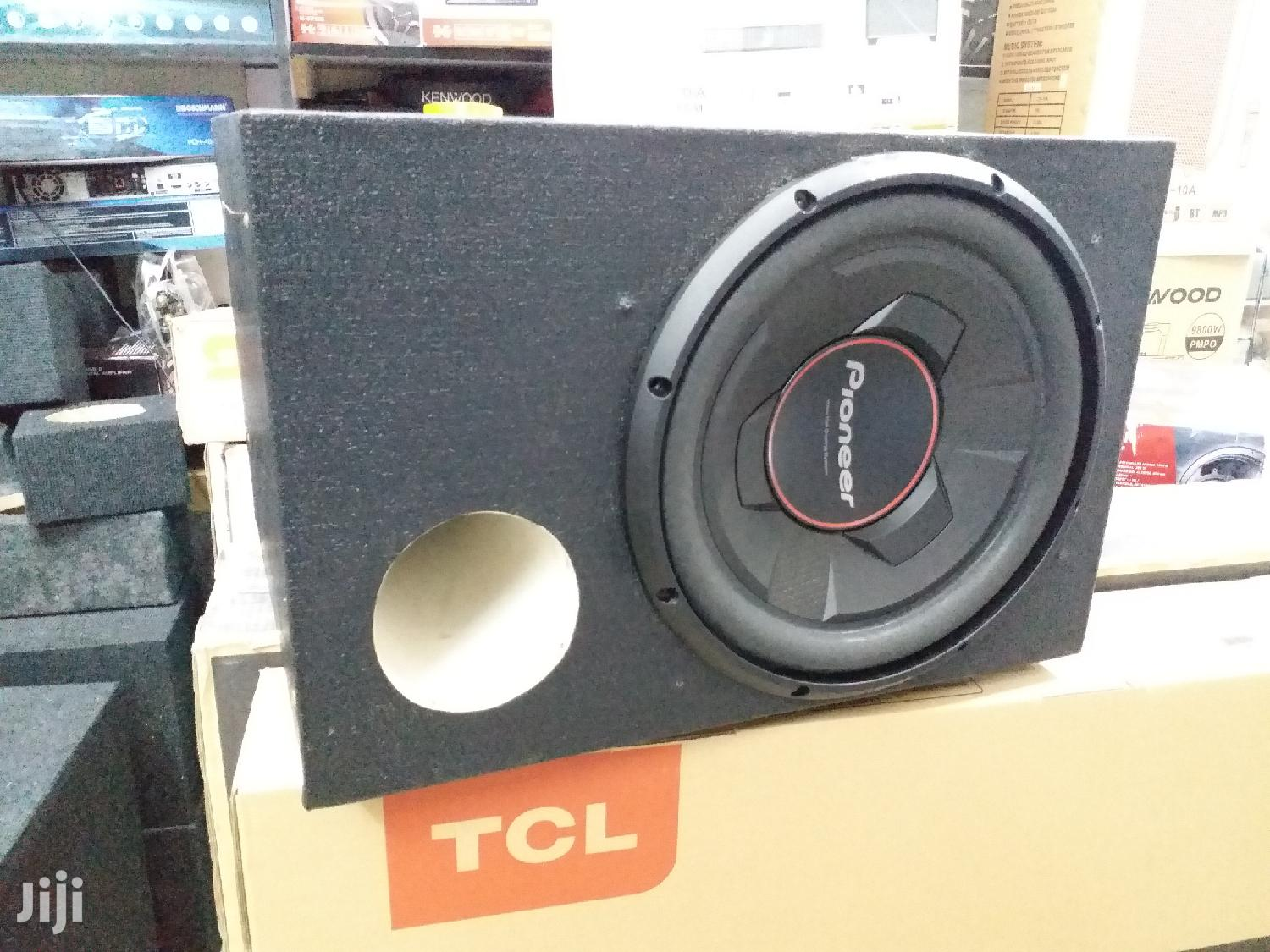 Pioneer TS-W306R 1300watts Deep Bass Woofer in a Cabinet   Vehicle Parts & Accessories for sale in Nairobi Central, Nairobi, Kenya