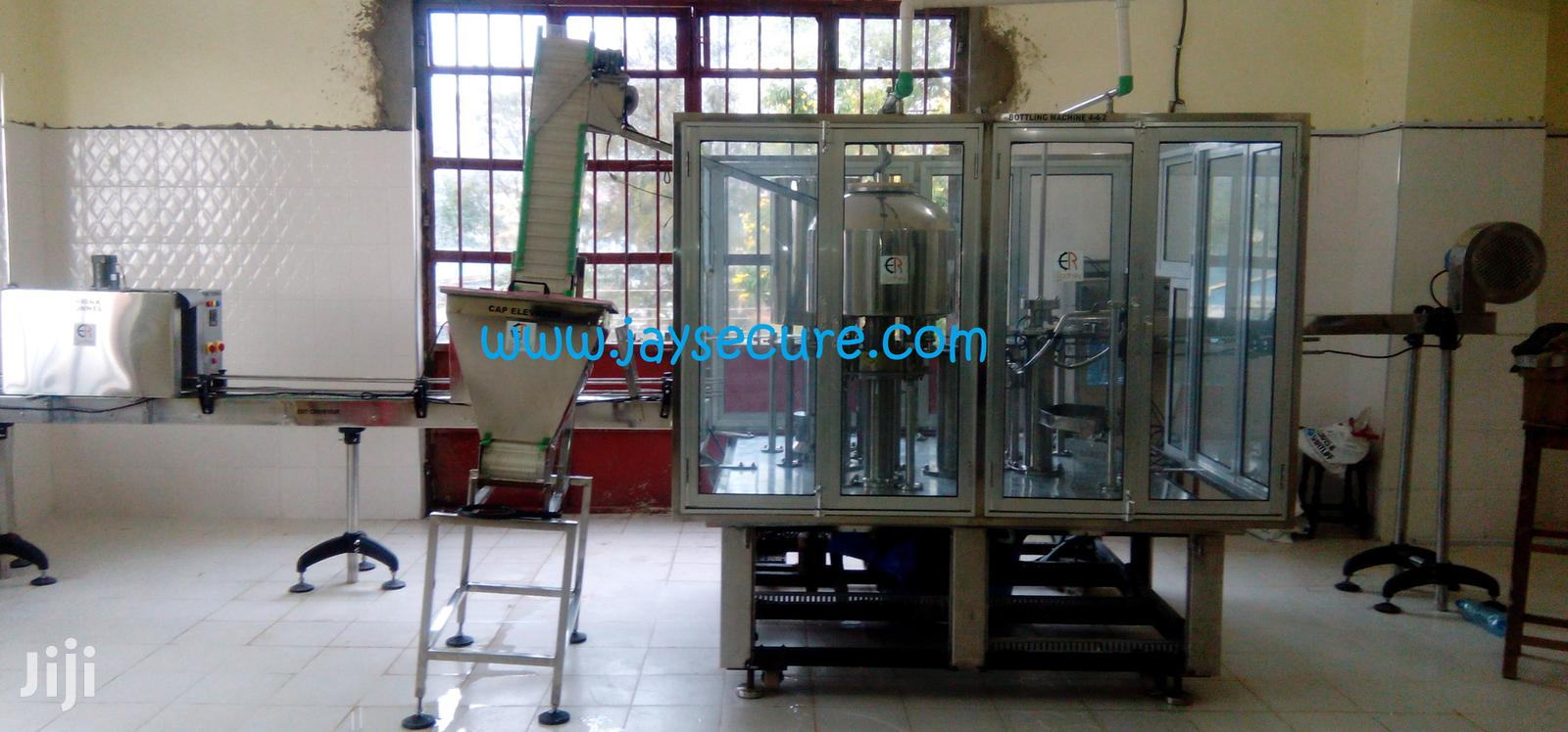 Archive: Water And Beverage Bottling Machines Available