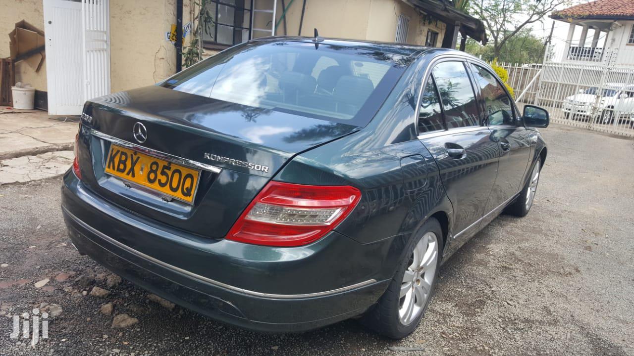 Mercedes-Benz C200 2007 Green | Cars for sale in Lavington, Nairobi, Kenya