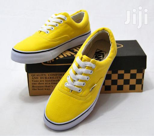 Authentic Vibrant Yellow Vans Off the