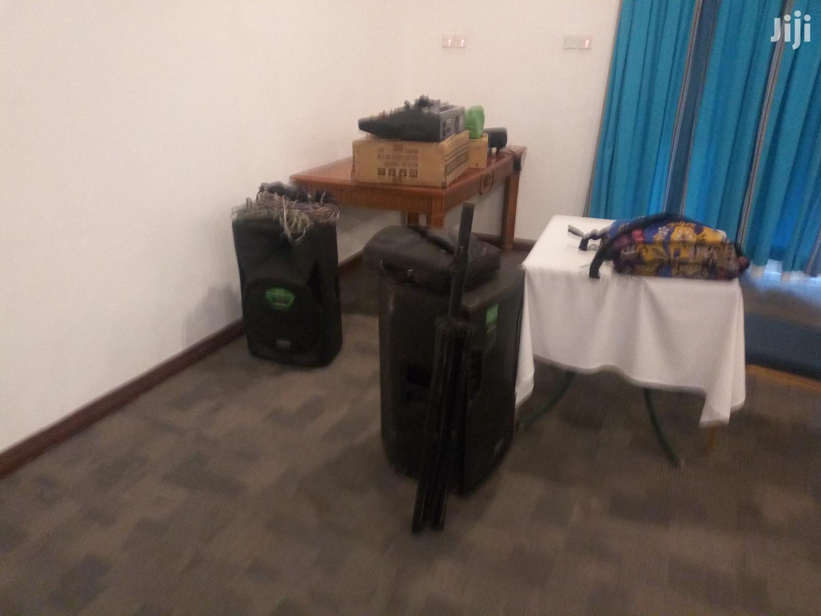 Pa Sound System And Projectors For Hire