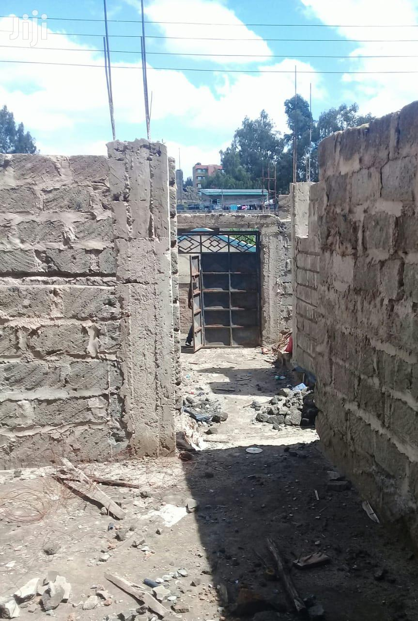 30 By 60 Plot Flat Incomplete Bedsitters In Kahawa West