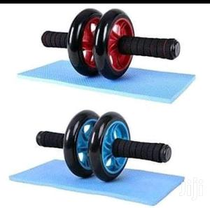 AB Wheel Abs Roller Workout Arm And Waist Fitness Exerciser Wheel   Sports Equipment for sale in Nairobi, Nairobi Central