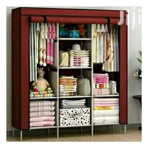 Durable Wooden Frame Portable Wardrobes