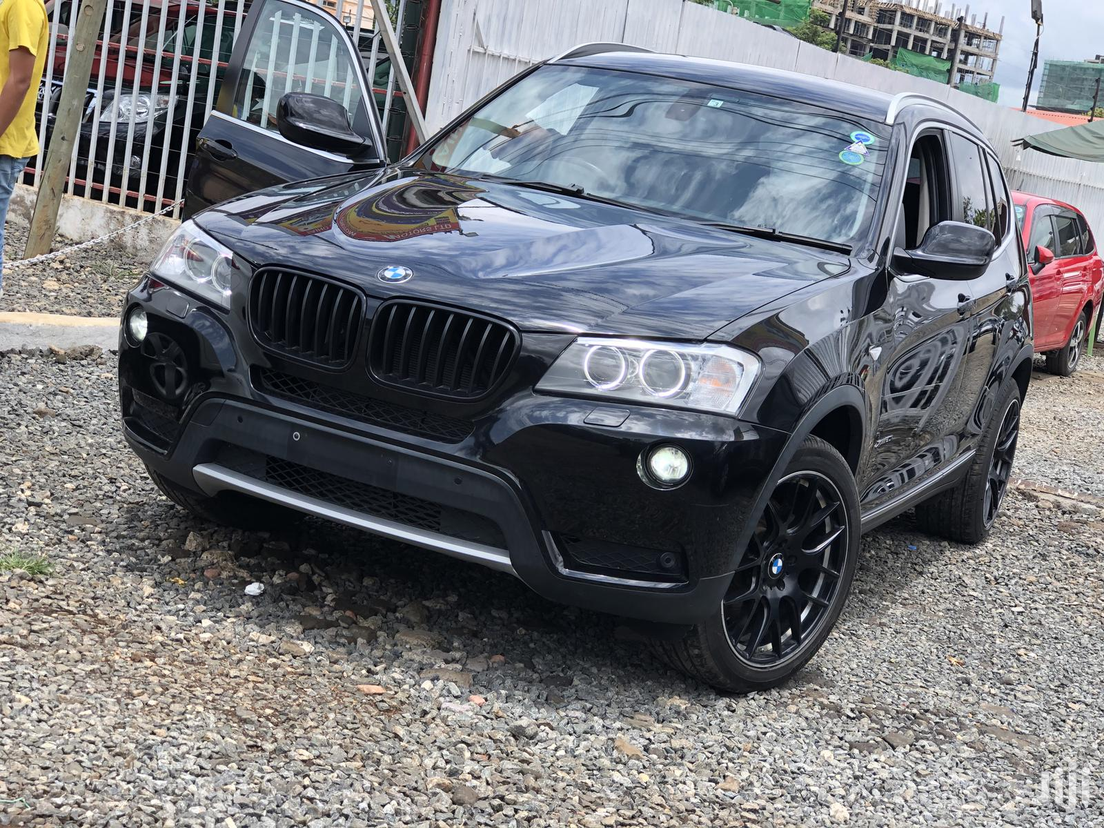 Bmw X3 2012 Black In Kilimani Cars George Odhiambo Jiji Co Ke