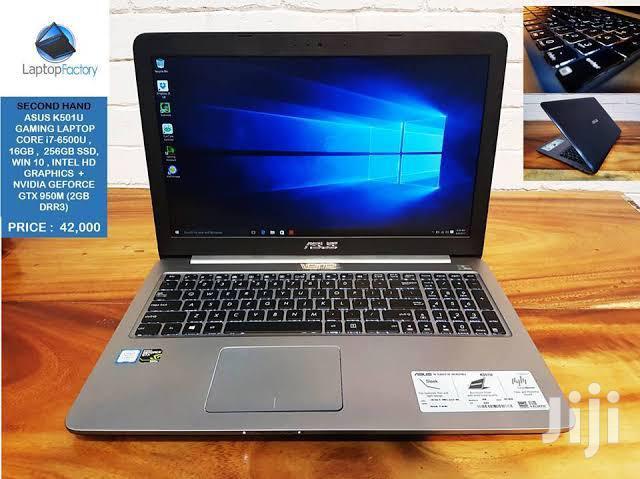 New Laptop Asus K50IJ 8GB Intel Core i7 SSD 256GB | Laptops & Computers for sale in Nairobi Central, Nairobi, Kenya