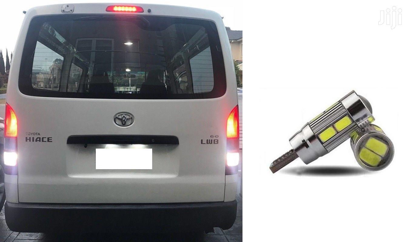 Universal White Reverse LED Bulbs: For Toyota,Nissan,Subaru,Mitsubishi