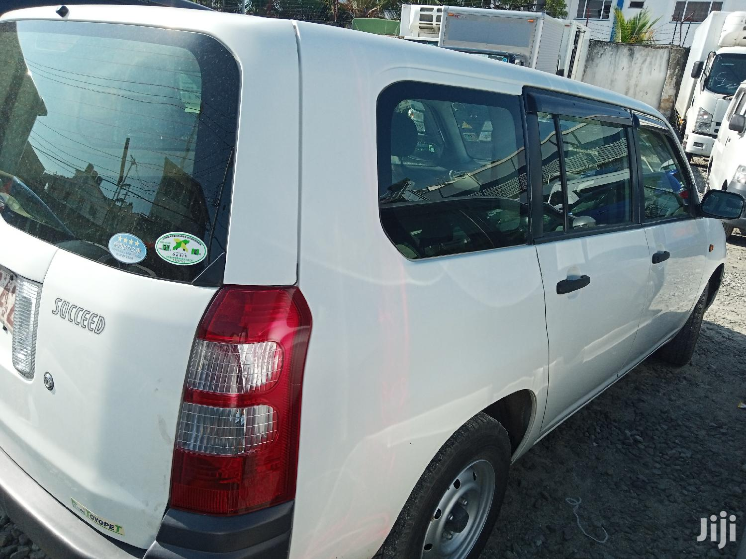 Archive: Toyota Succeed 2013 White