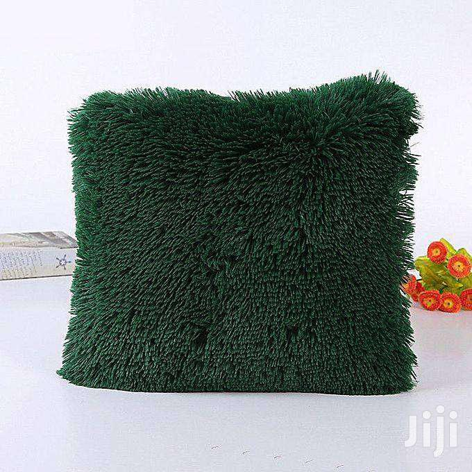 Decorative Fluffy Plush Throw Pillow Case Cushion Covers - 18'' X 18'' | Home Accessories for sale in Nairobi Central, Nairobi, Kenya