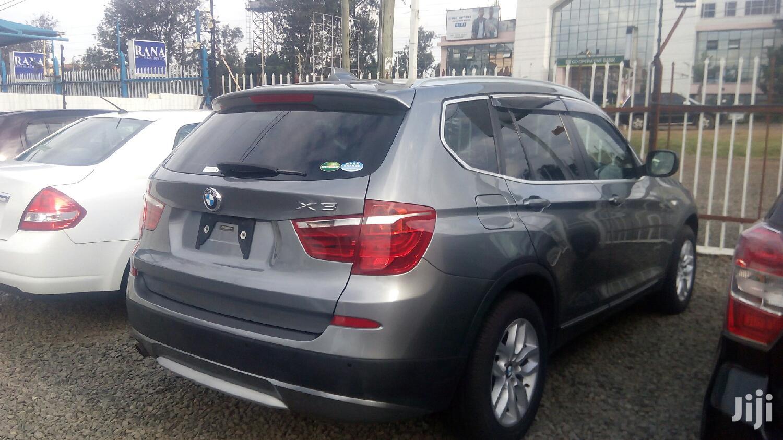 New BMW X3 2013 Gray
