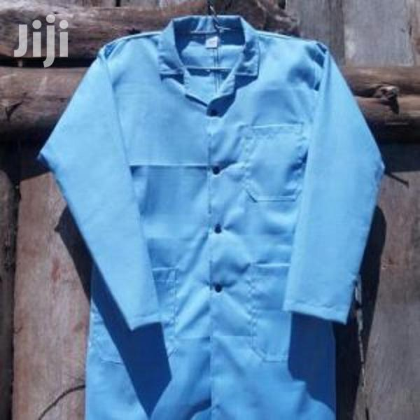 Sky Blue Dust Coat