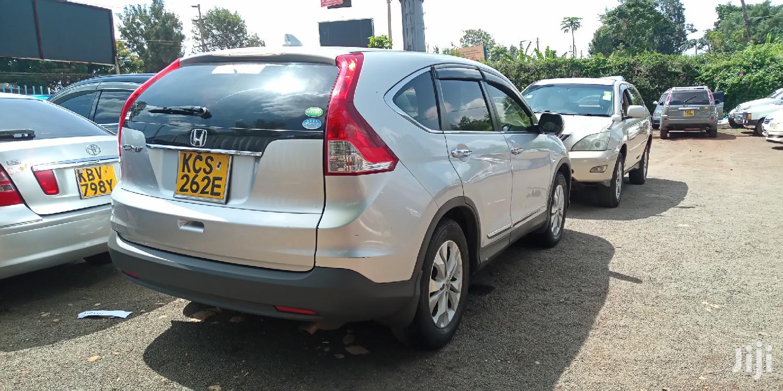 Archive: Honda CR-V 2012 Silver