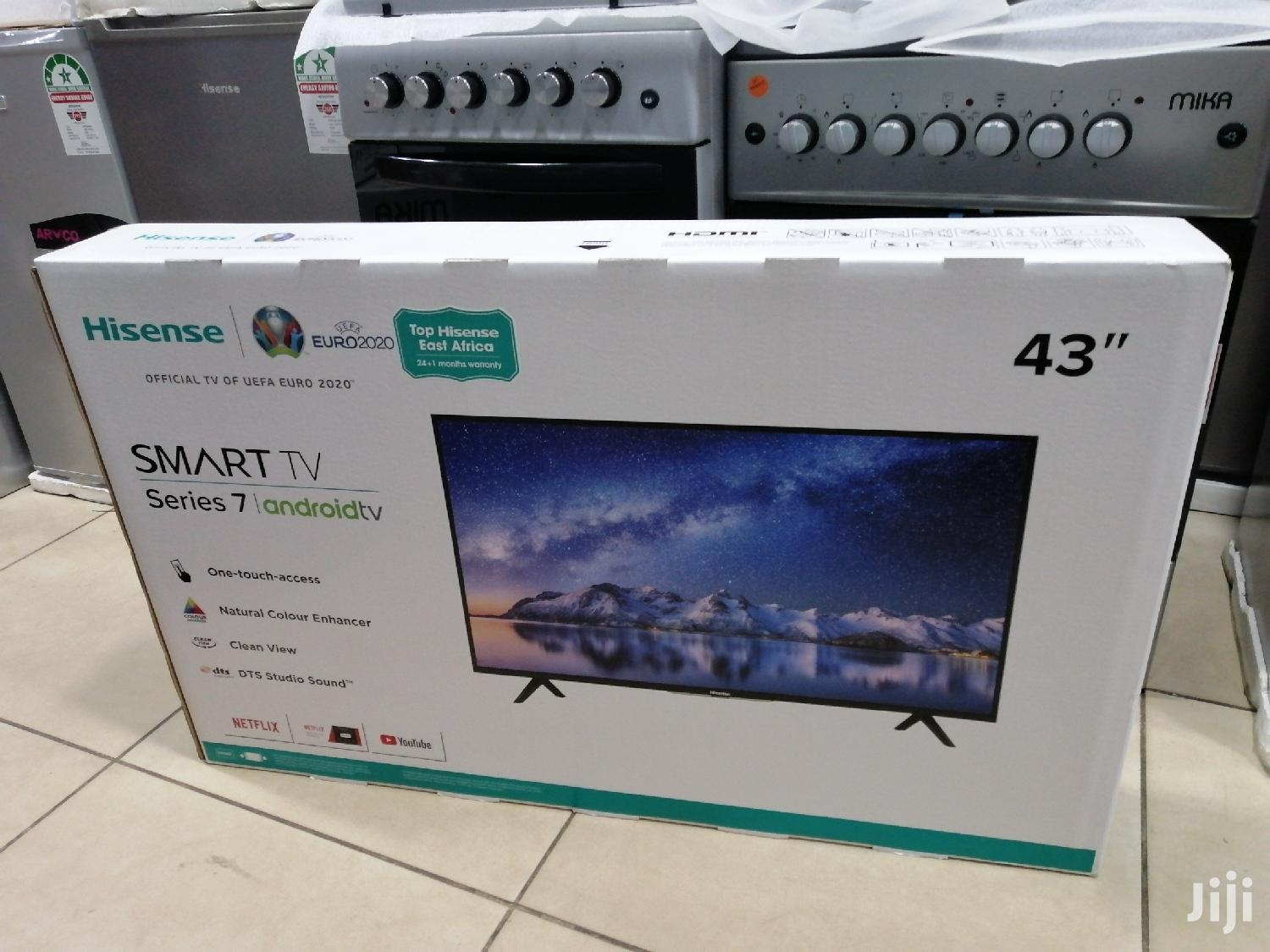 HISENSE SMART ANDROID Series 7 Tv 43 INCH