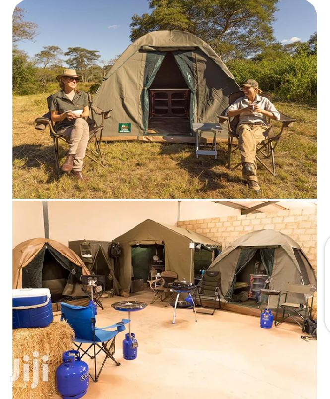 Offer! Canvas Camping Tents (Nomad Bow 3x3)