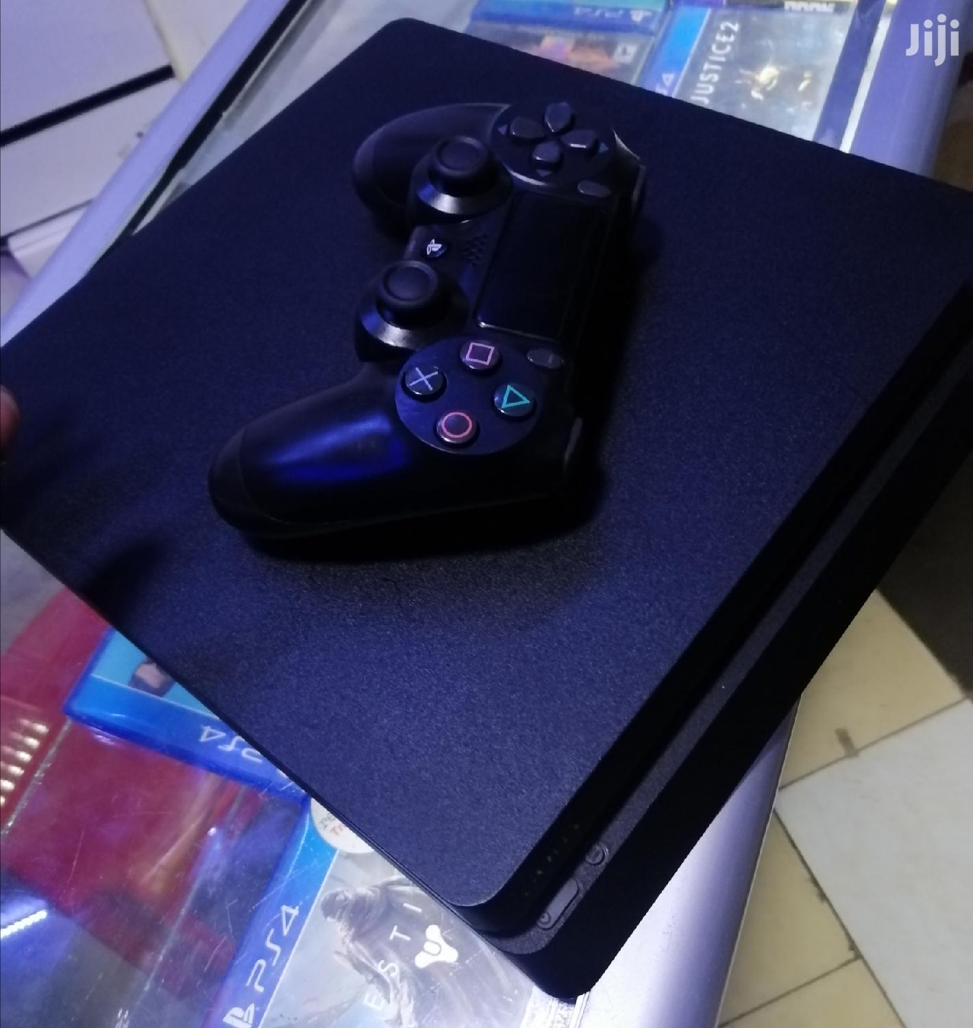Archive: Slightly Used Ps4 Slim 500GB With One Controller