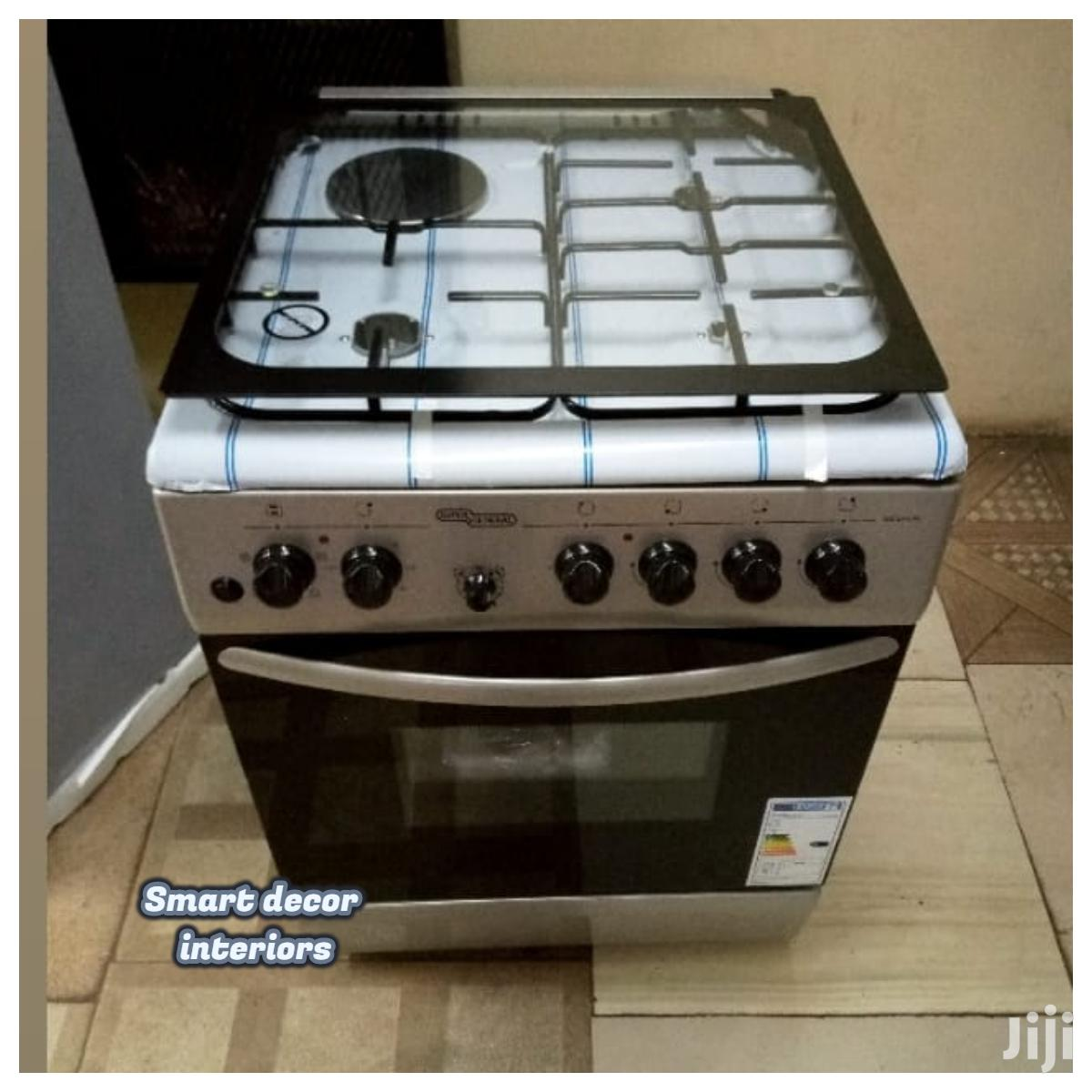 60 By 60 3gas +1 Electric Stand Cooker, Electric Oven