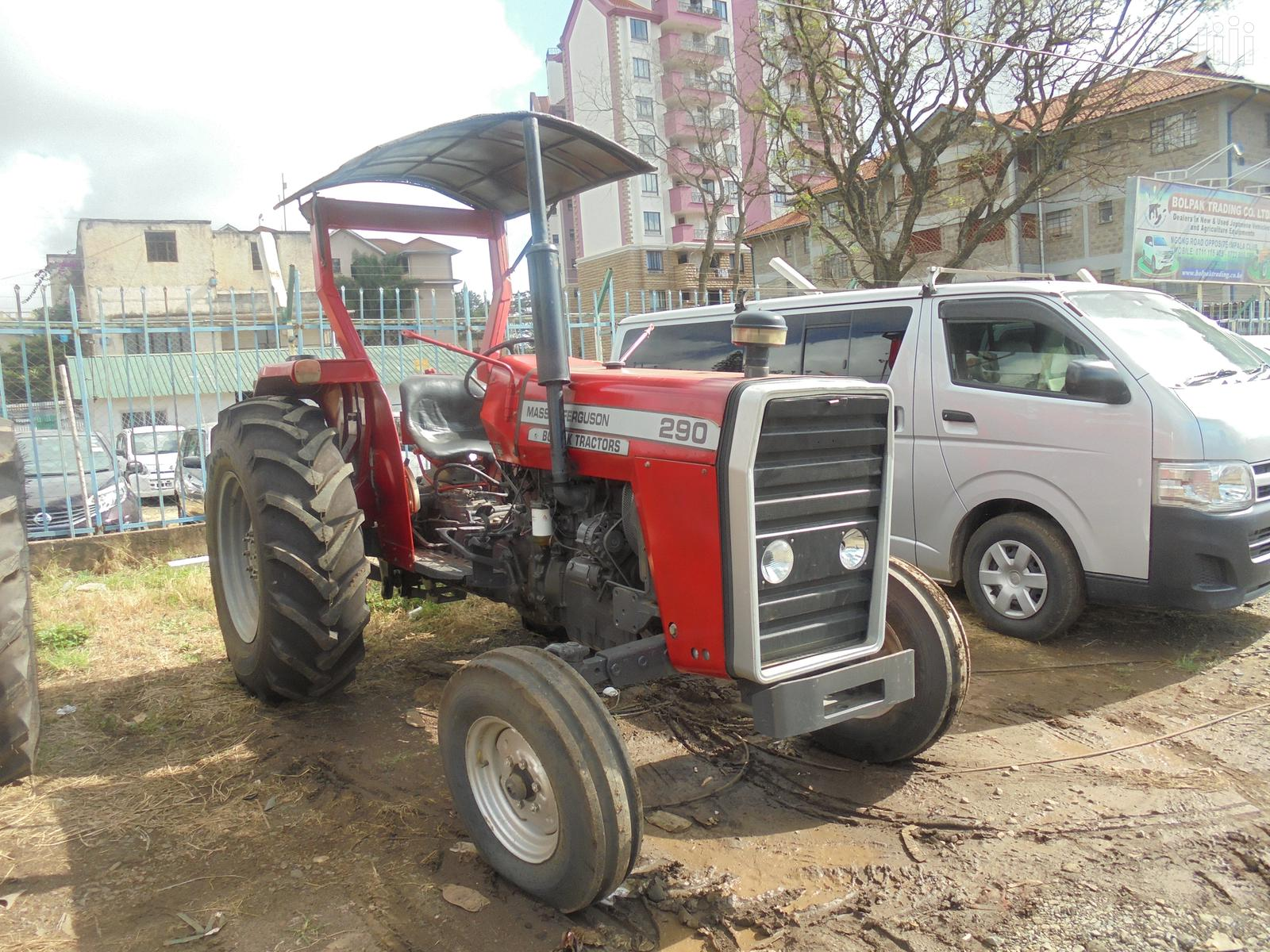 Famous Mf 290 90hp Tractor +All Accessories On Sale
