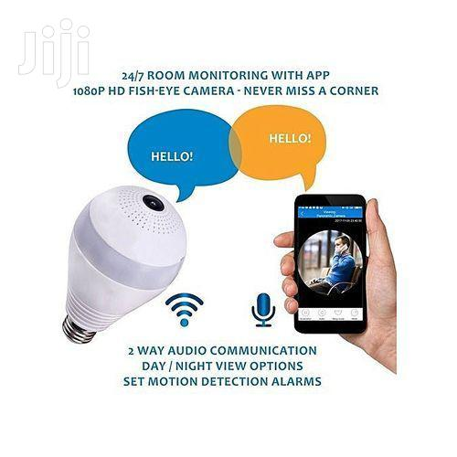 Full HD Wifi Nanny Camera Bulb