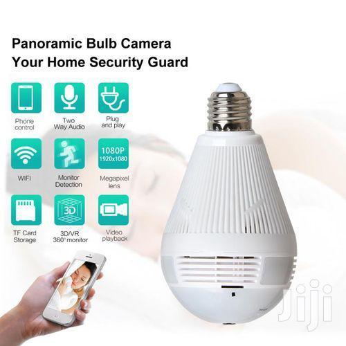 Full HD Wifi Nanny Camera Bulb | Security & Surveillance for sale in Nairobi Central, Nairobi, Kenya