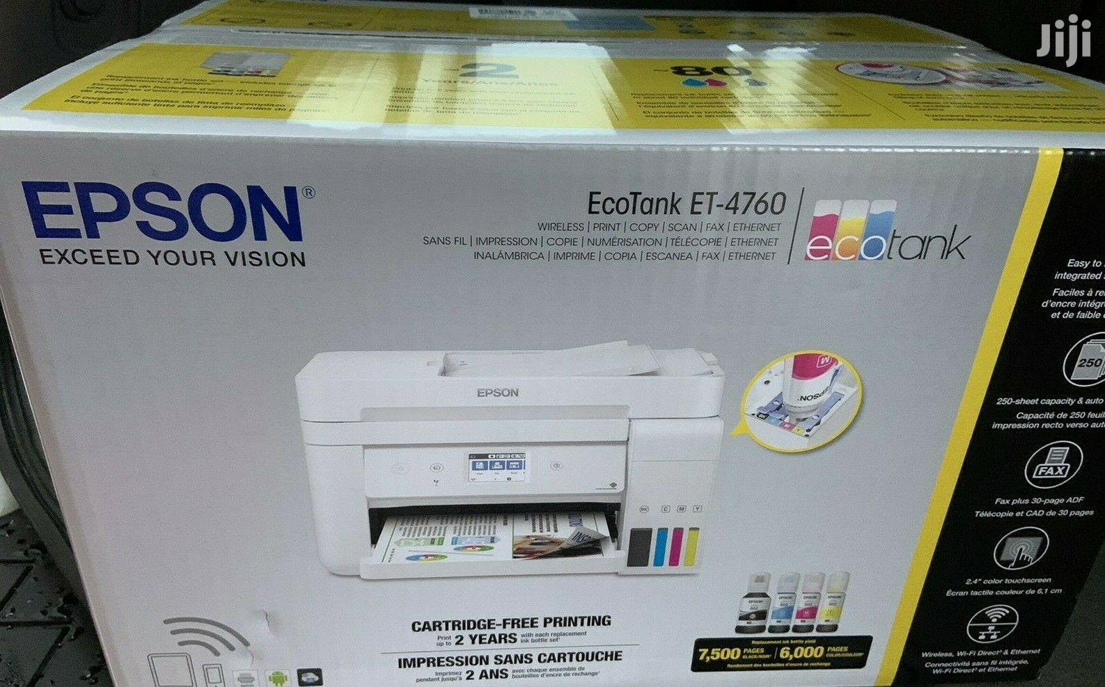 Epson Ecotank Et 4760 Workforce 3620 Replacement In Nairobi Central Printers Scanners Print Mart Jiji Co Ke For Sale In Nairobi Central Buy Printers Scanners From Print Mart On