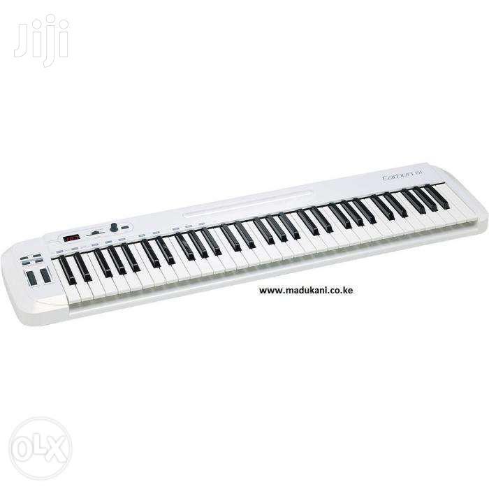 Samson SAKC61 Carbon 61 USB MIDI Keyboard Controller | Musical Instruments & Gear for sale in Nairobi Central, Nairobi, Kenya