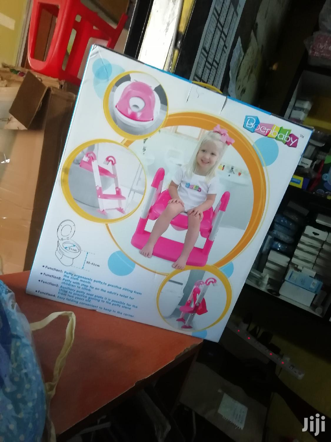 Baby Potty With Ladder