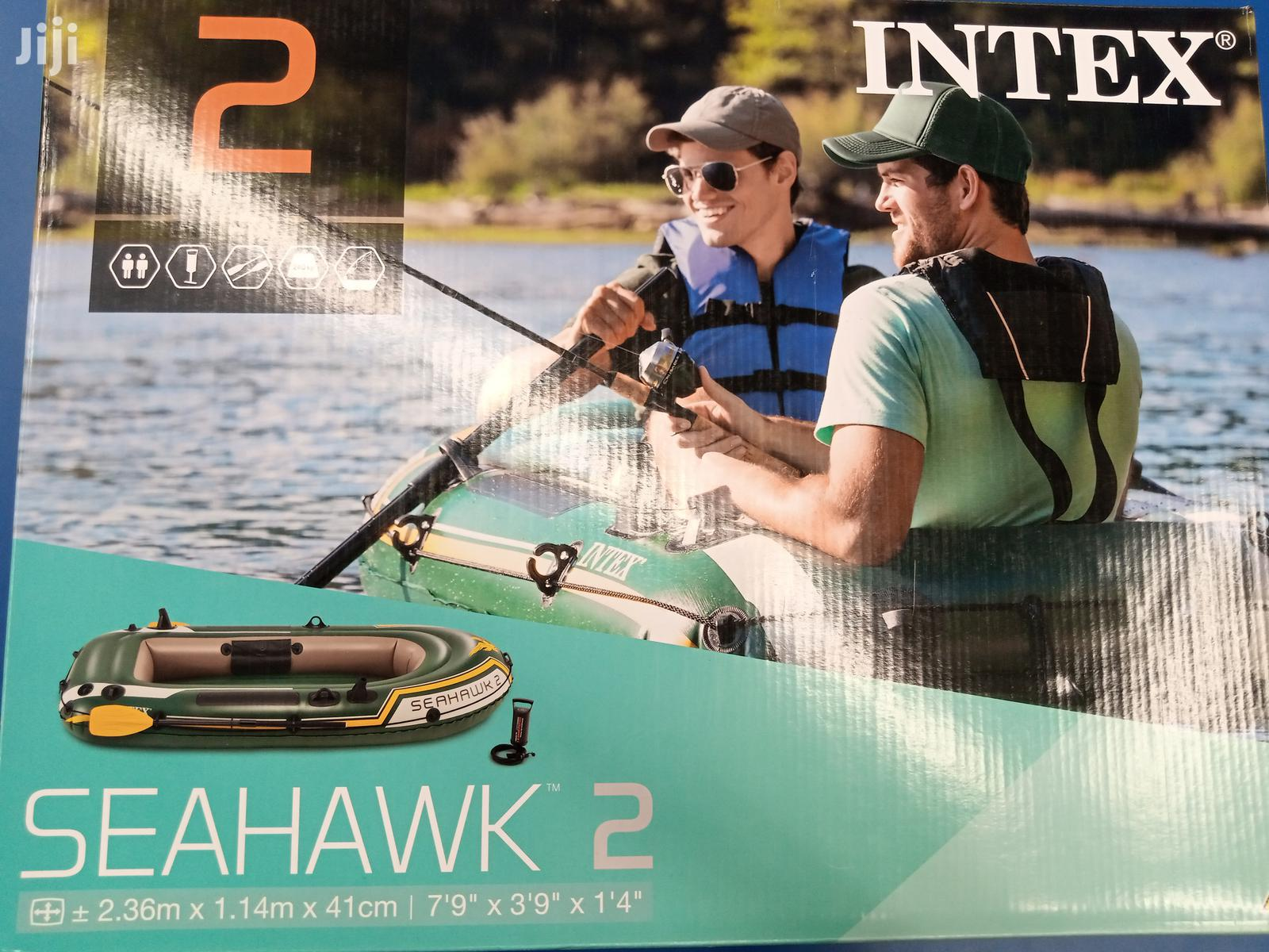 Offer! Inflatable Boats (Intex Seahawk 2)