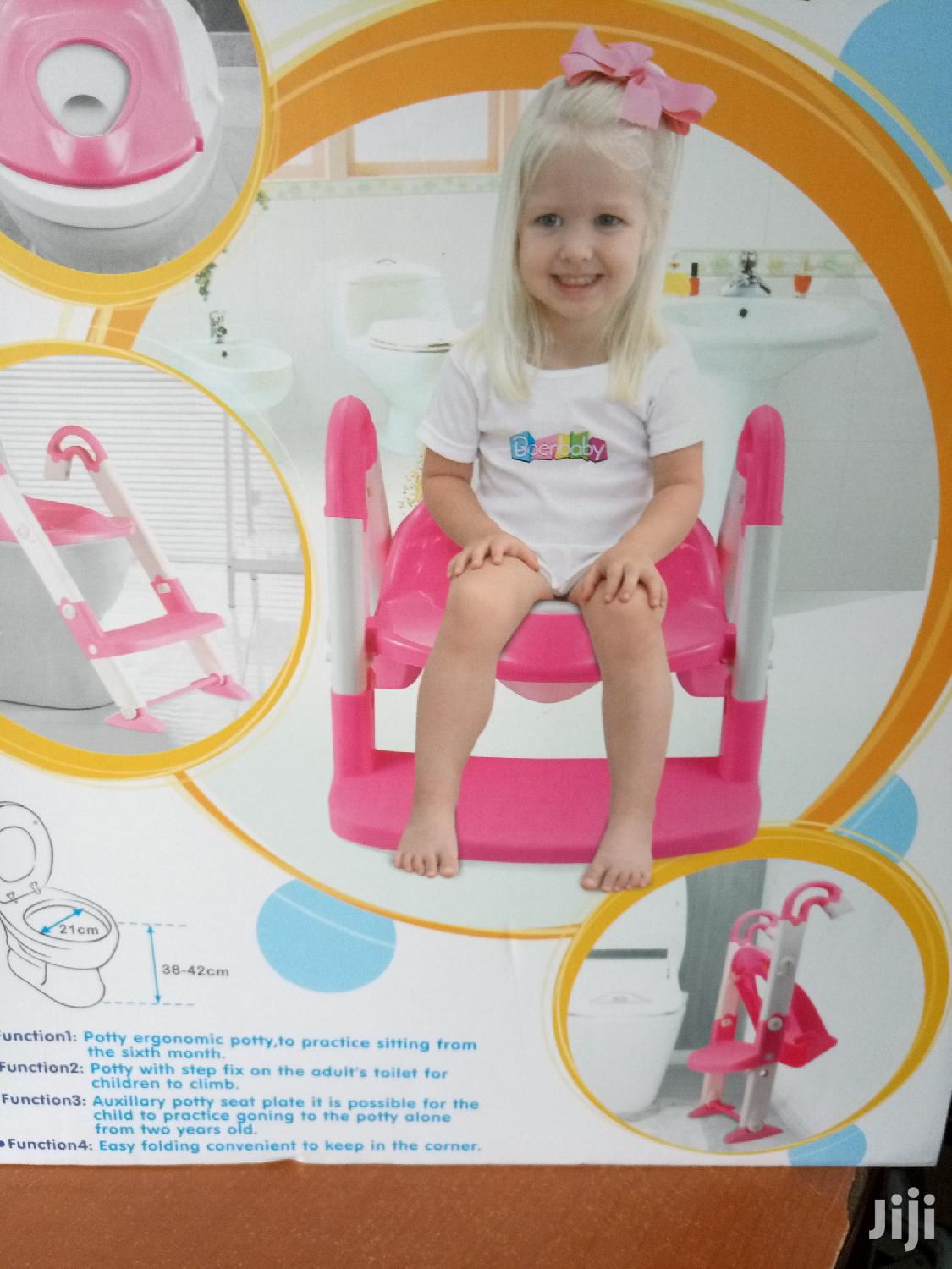 Foldable 3 in 1 Kids Seat Toilet Trainer Potty