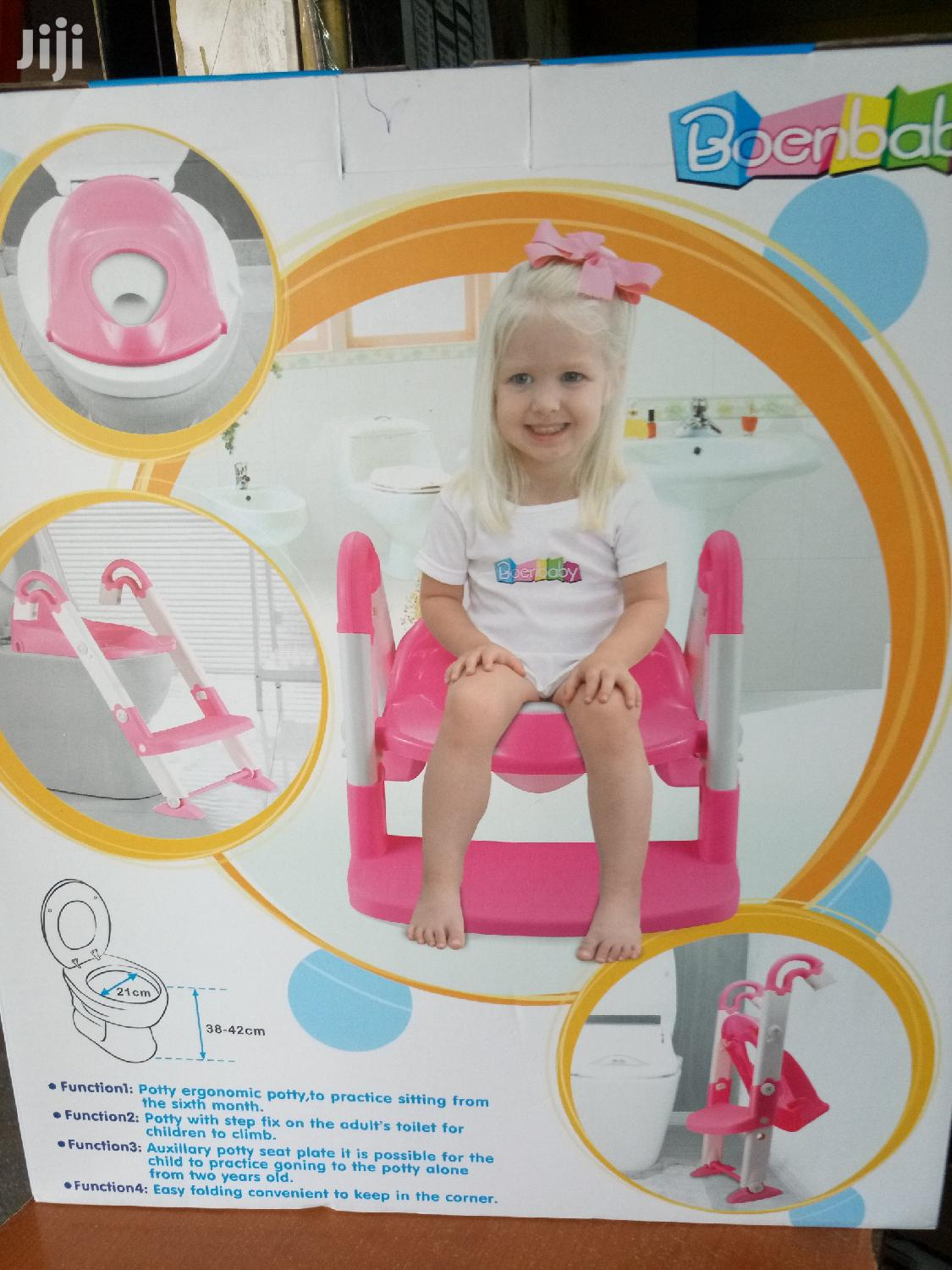 3 in 1 Foldable Kids Seat Toilet Trainer Potty