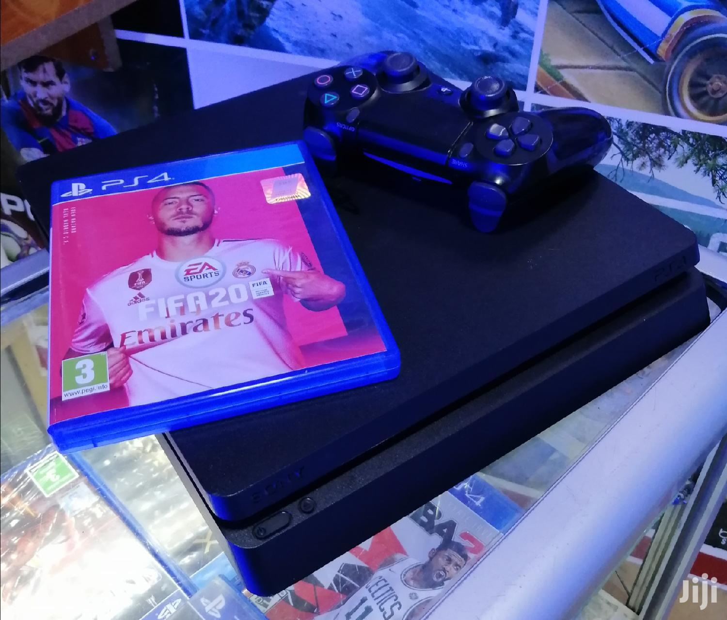 Archive: Slightly Used Ps4 Slim 500GB With Fifa 2020