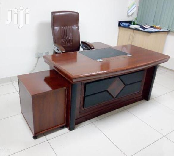 Executive Desk 1.6meter Mahogany Finish Ksh 32,000 With Free Delivery
