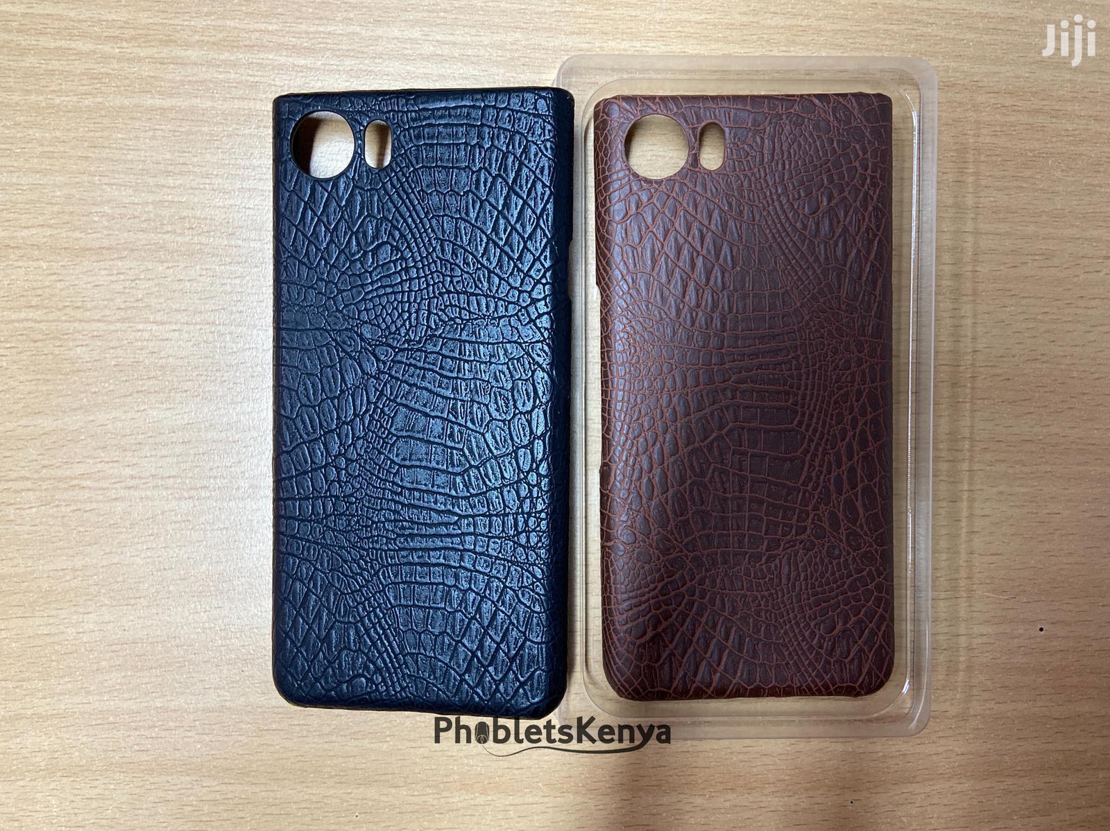 Blackberry Keyone Croco Back Cases