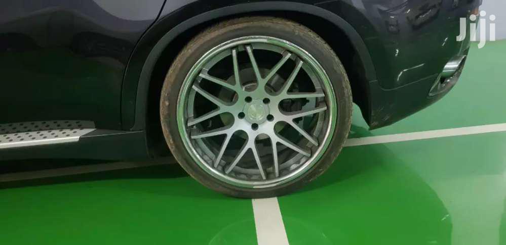 BMW X6/X5 Chrome Rims Size 22 With Tyres
